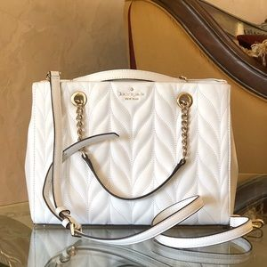 NWT Kate spade quilted leather Meena chain handbag